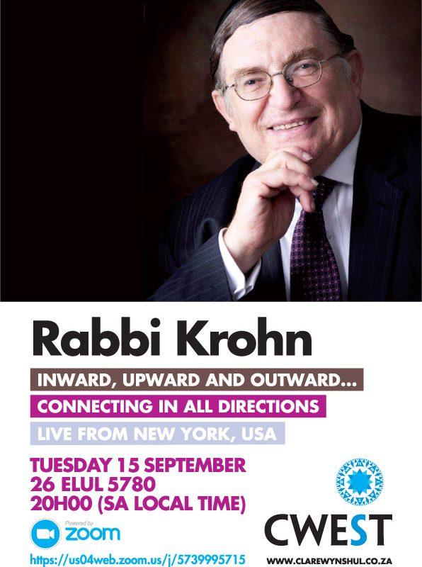 Rabbi Paysach Krohn, New York, USA